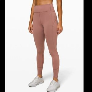 NWT lululemon in move to tight 25 Spanish oak